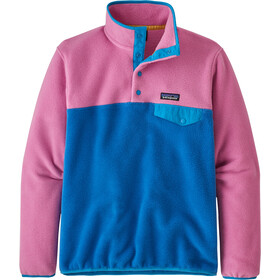 Patagonia Lightweight Synchchilla Snap-T Pullover Women marble pink